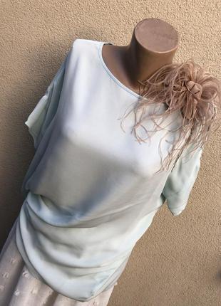 Шелк,блуза рубаха,премиум бренд,poles,