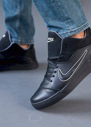 Мужские кроссовки кожаные Nike