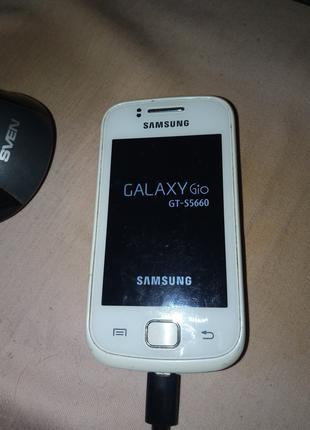 Мобильный телефон Samsung Galaxy Gio GT-S5660