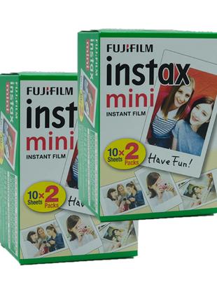 Касеты фотобумага пленка FUJIFILM INSTAX Mini film