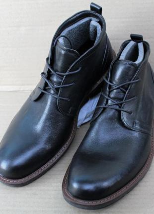 Ботинки ecco jeremy 602524 натуральна кожа оригінал