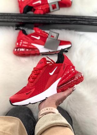 Женские красные кроссовки nike air max 270 разные размеры в на...