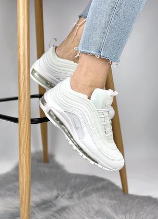 Белые женские кроссовки nike air max 97