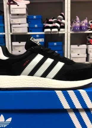 Черные мужские кроссовки adidas iniki