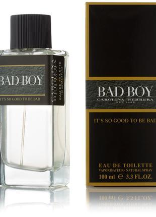 Мужская туалетная вода Carolina Herrera Bad Boy - 100 мл (new)