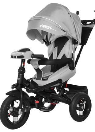 НОВИНКА! Трехколесный велосипед коляска TILLY Impulse, фара, м...