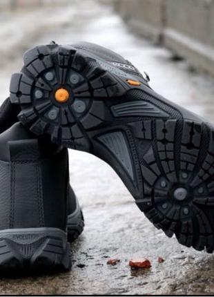 Ботинки мужские зимние Ecco