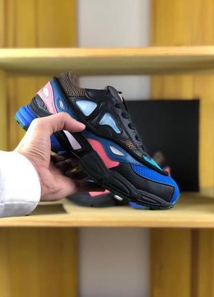 Женские черные кроссовки adidas raf simons consortium black pi...