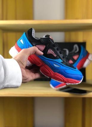 Разноцветные женские кроссовки adidas raf simons ozweego 2 bla...