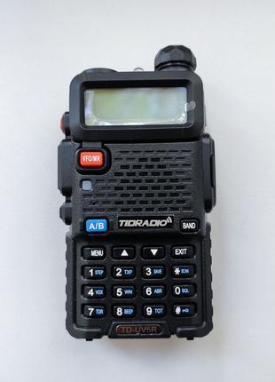 Рация Tidradio UV-5R, как Baofeng UV-5R, аккумулятор, гарнитура