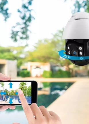 IP Камера Видеонаблюдения CAD 19HS WIFI 360 2.0mp Уличная Full...