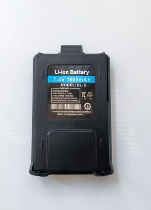 Аккумулятор 1800 мАч для Baofeng UV-5R Tidradio