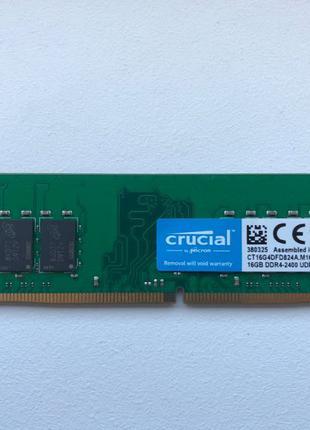 Crucial DDR4 16GB 2400 MHz (CT16G4DFD824A)