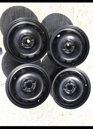 Диски стальные R15, 4*100, et43, 6J, dia60.1.#1, Renault