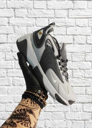 Мужские серые кроссовки nike zoom 2k gray