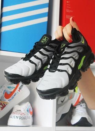 Мужские серые кроссовки nike vapormax tn