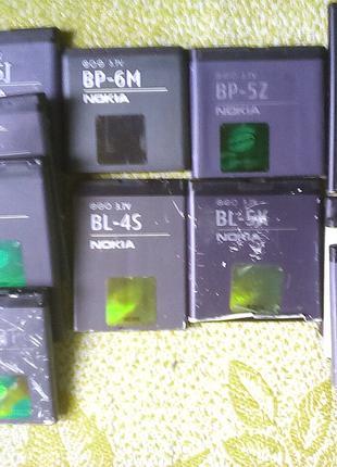 Батарея Nokia bl-4c 4s 5cb 5c 5j аккумулятор