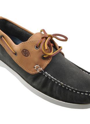 Мужские кожаные мокасины Dockers 43 EAN 4050283319227 в коробке о