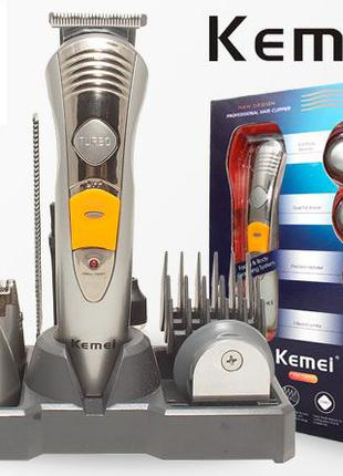 Бритва триммер Kemei KM-580A 7 в 1 машинка для стрижки волос и...