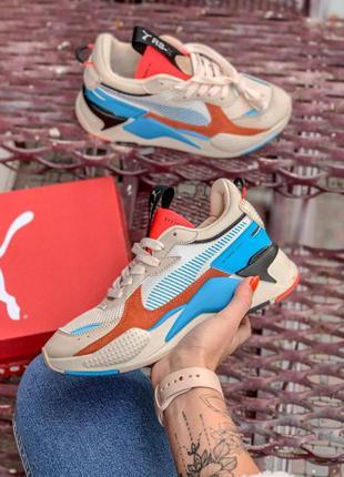 Шикарные женские кроссовки puma rs-x пума