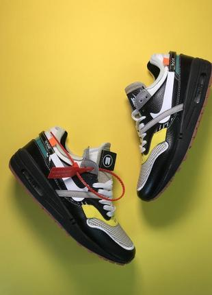 Крутые женские кроссовки nike air max 87 og x off-white