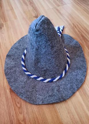 Шапка банна, шапка в баню капелюх в сауну капелюх для лазні шл...