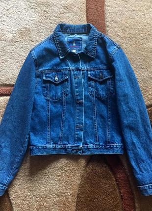 Джинсовка джинсовая куртка/джинсовый пиджак/жакет