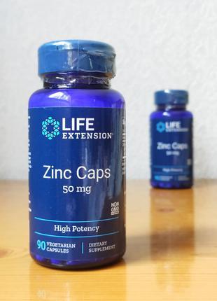 Монометионин цинка, Life Extension, 50 мг, 90 капсул