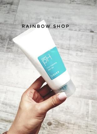 Гель-молочко для снятия макияжа cosrx low-ph first cleansing m...