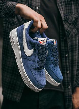 "Nike air force lou luxury suede  ""blue\white""   🆕 мужские крос..."