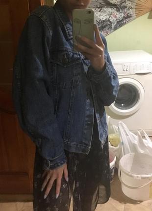 Джинсовка джинсовая куртка джинсовый пиджак/жакет