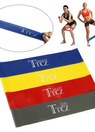 Резинки TTCZ для фитнеса резиновые петли Поштучно и наборы