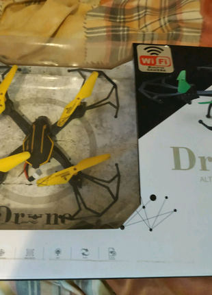 Квадрокоптер с камерой (Drone)