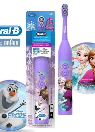 Детская электрическая зубная щетка Disney Frozen Braun Oral-B