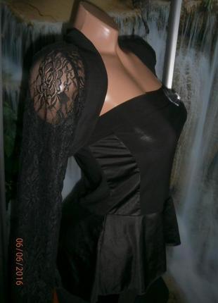 Платье с баской + болеро