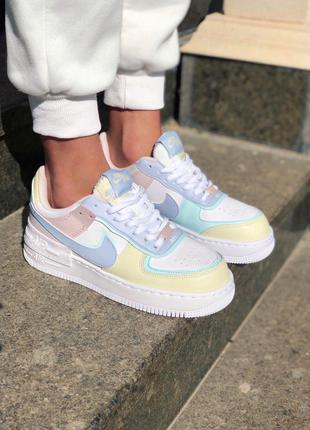 Кроссовки Nike Air Force Shadow Glacier Blue