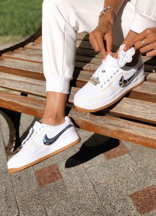 Кроссовки Nike Air Force Travis Scott x Louis Vuitton