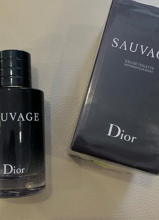 Мужской парфюм Dior Sauvage