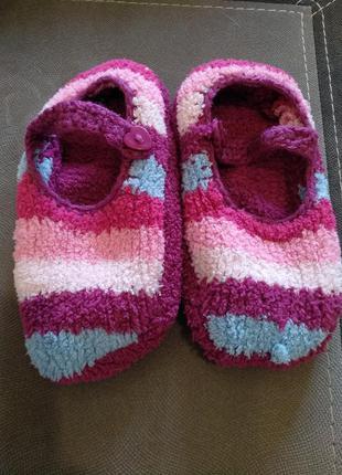 Домашние тапочки носочки