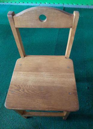 Детский стол и стулья дерево