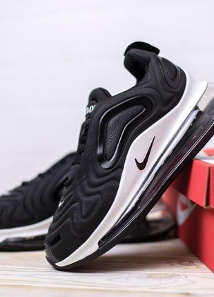 Nike air max 720  black 🆕 мужские кроссовки найк 🆕 черные