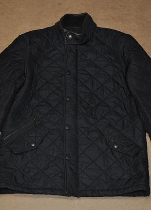 Barbour мужская стеганая куртка на флисе
