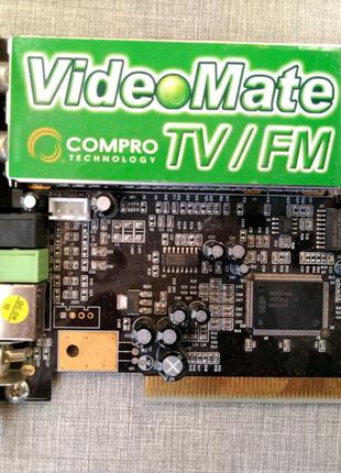 TV-тюнер аналоговий PCI COMPRO VideoMate TV/FM PALBG+DK