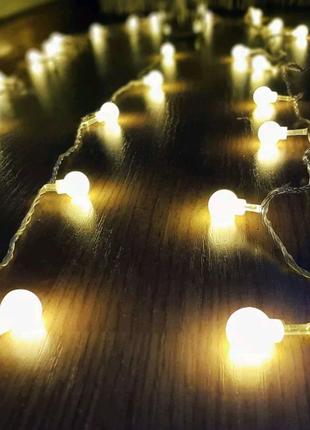 Гирлянда с led лампочками