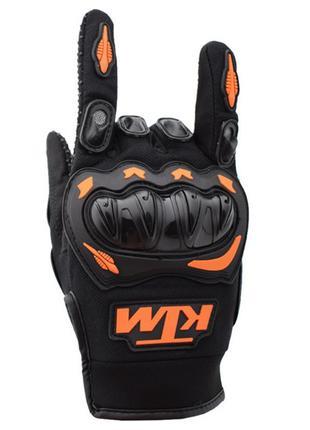 Мото перчатки 🧤 KTM