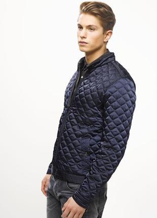 Солидная мужская стёганая курточка осенняя /весення размер хл