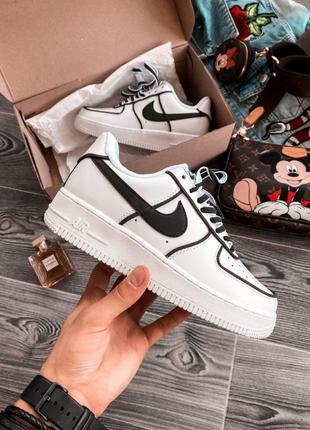 Кроссовки Nike Air Force 1 Low White Reflective