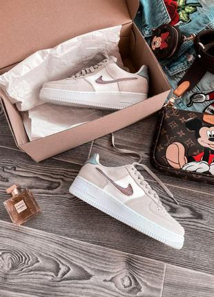 Кроссовки Nike Air Force 1 Beige White