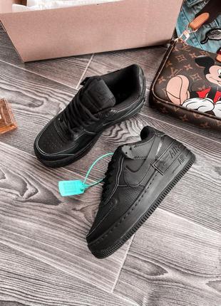 Кроссовки Nike Air Force 1 Low Shadow Black