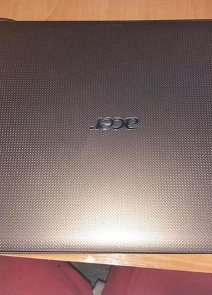 На разборку корпус ноутбука acer реw76